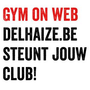 Boodschappen doen in Delhaize met voordeel voor je turnclub….